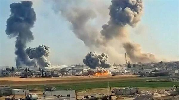 five civilians killed in russian airstrikes in syria