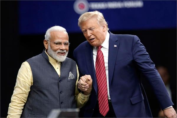 trump india visit eyes on us presidential election