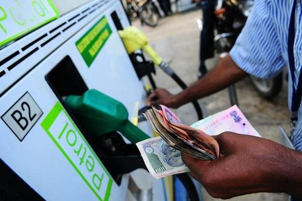 petrol and diesel prices fall