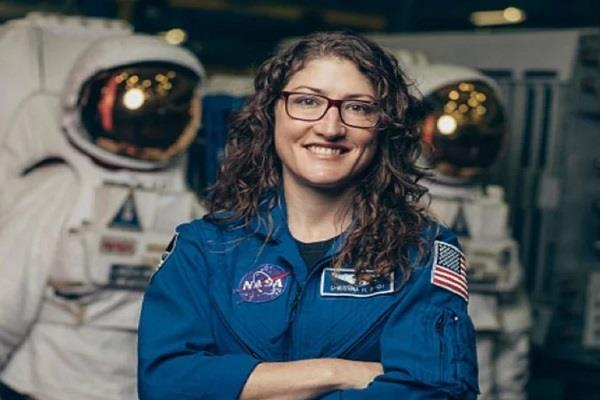 record longest stay space christina will return earth thursday