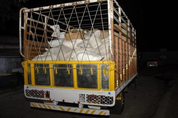 crime branch caught 100 year old nawabi truck loaded with documents