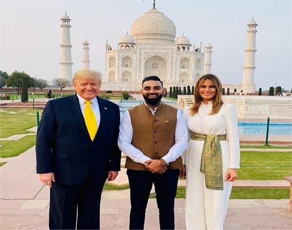 nitin singh who guides trump melania became  celebrity  in just two hours