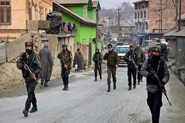security forces raid the homes of three terrorists