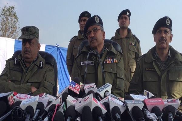 jaish terrorists killed kashmir carry many attacks crpf dg