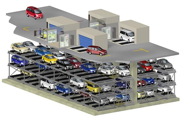 multistory parking map approved government will pay 53 million project