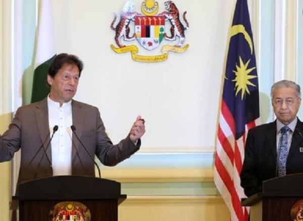 imran khan again hate speech against india in malaysia