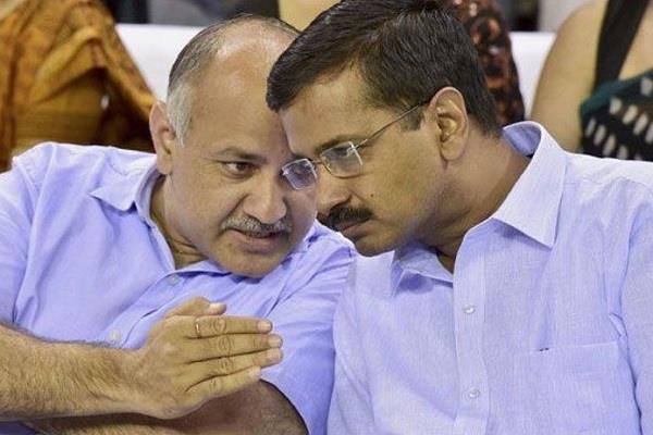millennia trump cm kejriwal and sisodia not attend government school delhi