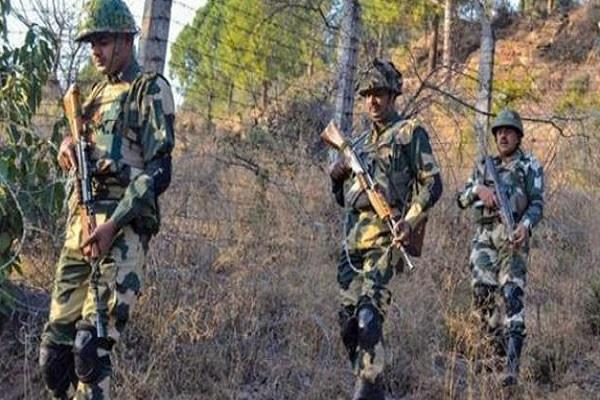 pakistani army fired in shahpur kirani sectors in poonch