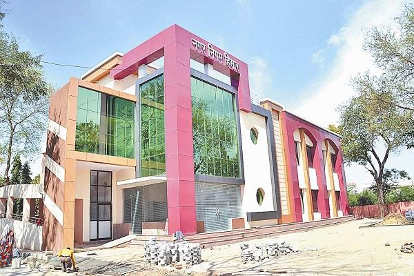 unseen municipal corporation could not solve ruins building became