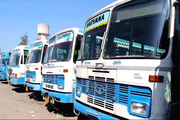 6 roadways buses to go to delhi with home guard jawans in assembly elections