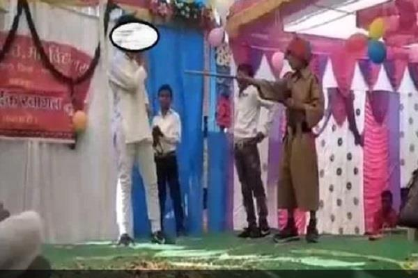 bhagat singh s accident with school student playing role hanging death