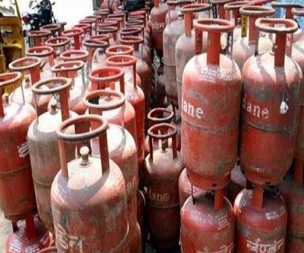 domestic gas cylinder