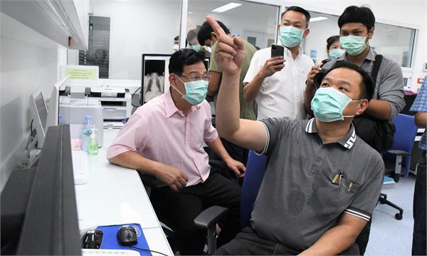 thai doctor says new drug combination treated coronavirus