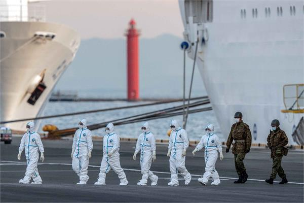 4 indians on board cruise ship test positive for coronavirus