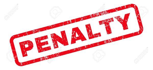 if the customer is not billed from february 15 the penalty will be charged