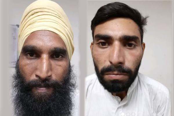 two real brothers arrested search for third breaks amritsar jail