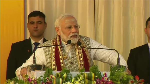 pm modi is coming to varanasi will give projects
