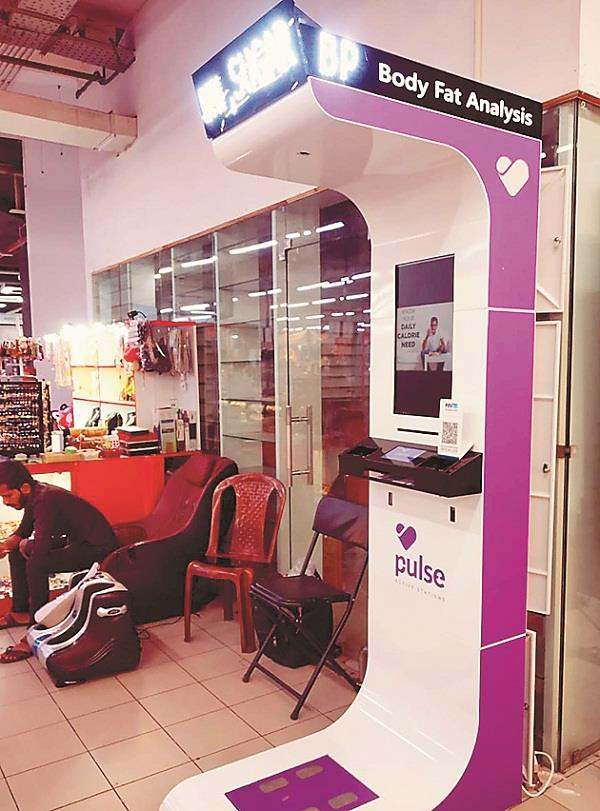 railway department will put up  health atm kiosk machines  at stations