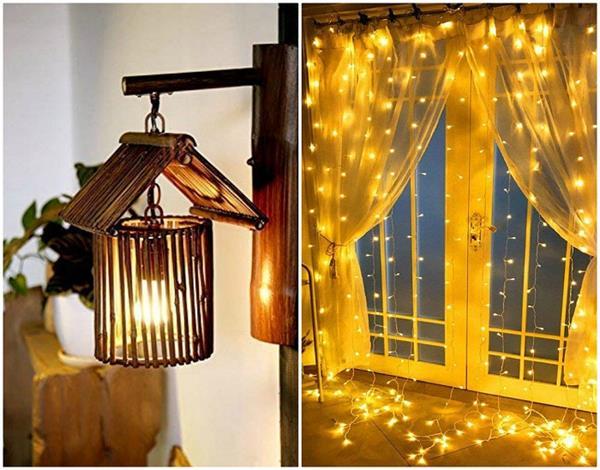 DIY Light:आप भी अपने घर को रौशनी की चादर में दीजिए लपेट