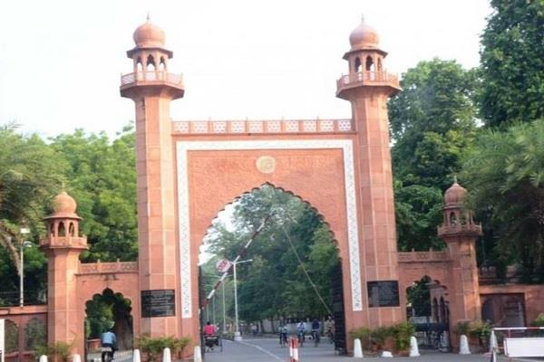 amu students raise freedom slogans in support of jailed sharjil