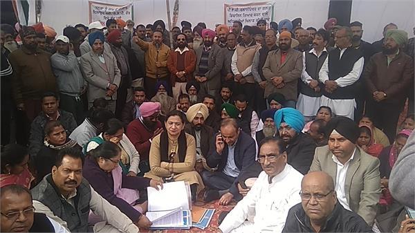 rajinder beri protest against nhai