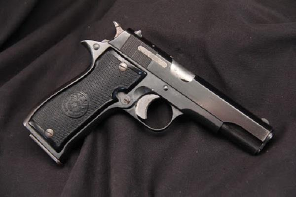 32 bore pistol stolen from the police station