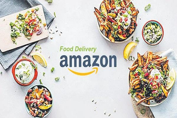 food will now be ordered from amazon