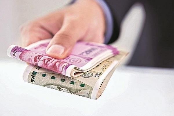 34 paise weakened rupee