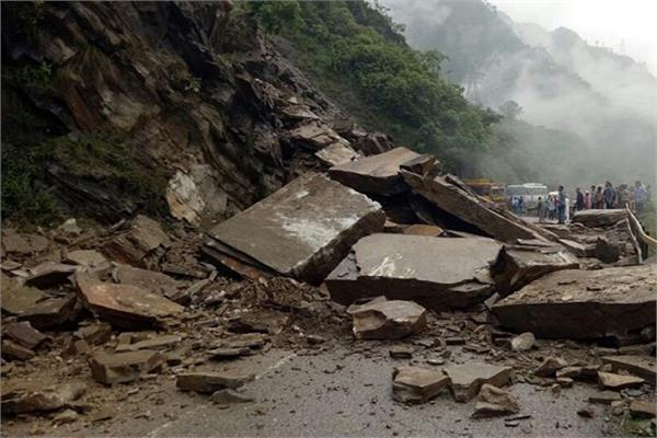 four killed in landslide in indonesia