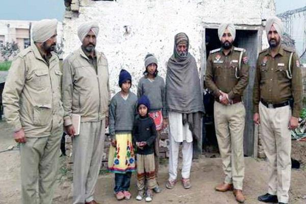 police recovered 3 sisters who went to gurudwara due to fear of parents