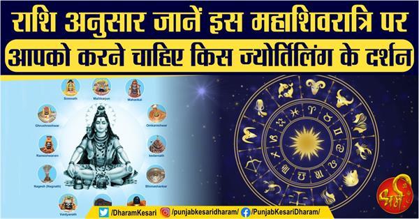 mahashivratri 2020 to jyotirlinga worship according your zodiac sign
