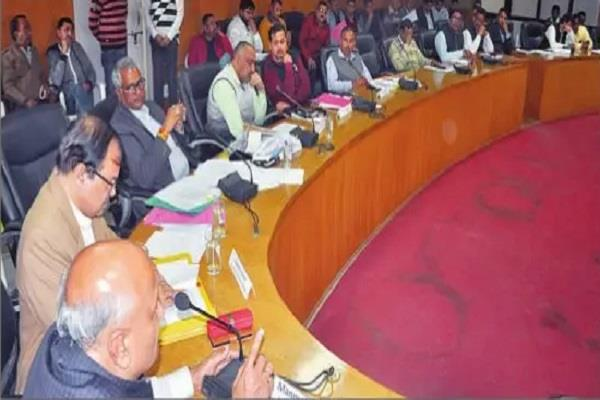191 agenda presented at municipal meeting budget of rs 167 crore passed