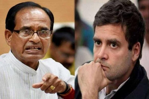 former cm shivraj singh posted a video asking questions to rahul gandhi