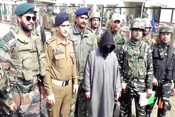security forces got big success in baramulla hizbul terrorist junaid arrested