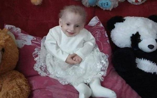 8 year old girl in ukraine dies of old age
