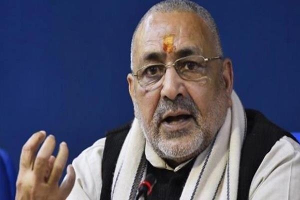 some people want to break india we have to be conscious giriraj singh
