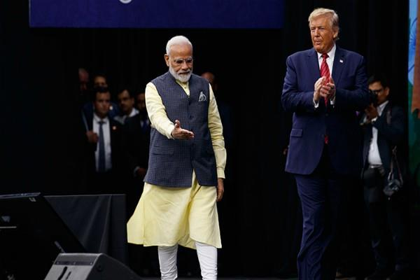 india looks forward to welcoming to trump pm modi