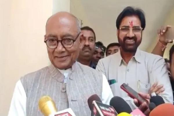 diggi raja s response to the meeting with scindia
