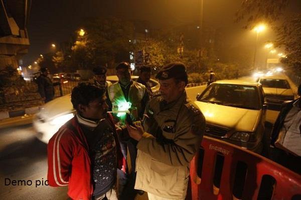 corona virus demand to stop the breathalyzer of drunk drivers