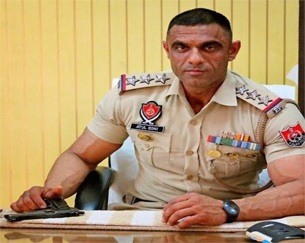 arrest warrant issued against dsp atul soni for firing on wife