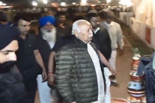 rss youth resolution camp start guna mohan bhagwat reached