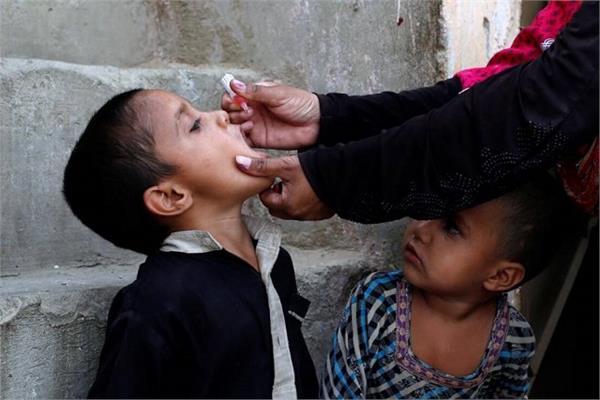 nationwide polio eradication campaign begins in pakistan