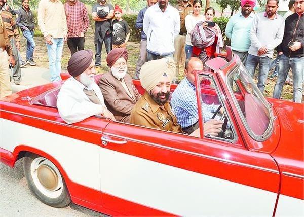 patiala heritage festival 2020 1932 cars ran on streets of royal city