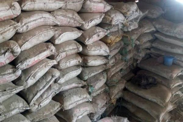 careful adulterated cement in branded sacks sold in bhopal