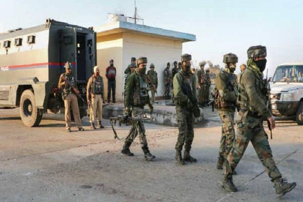 nagrota a terrorist attack a major reason for security lapses
