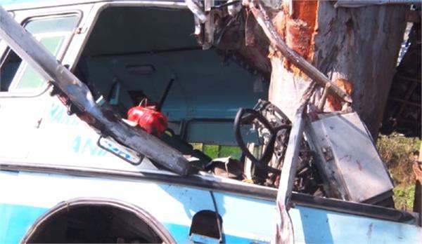 bus accident driver conductor death