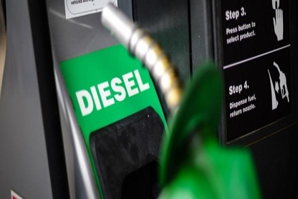 diesel prices fall again