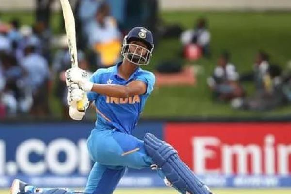 yashsvi who scored a century in the u 19 cricket world cup