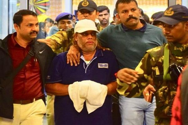gangster ravi pujari brought to india from south africa
