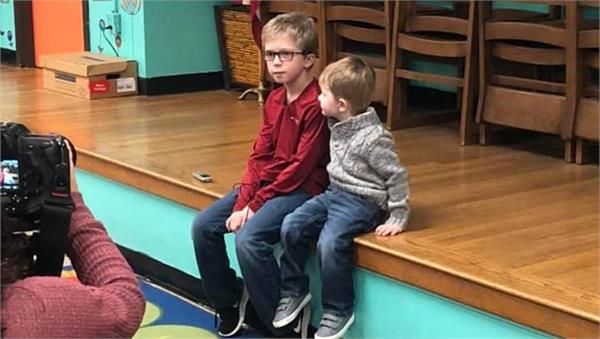 9 year old saves toddler from choking with technique learnt on youtube